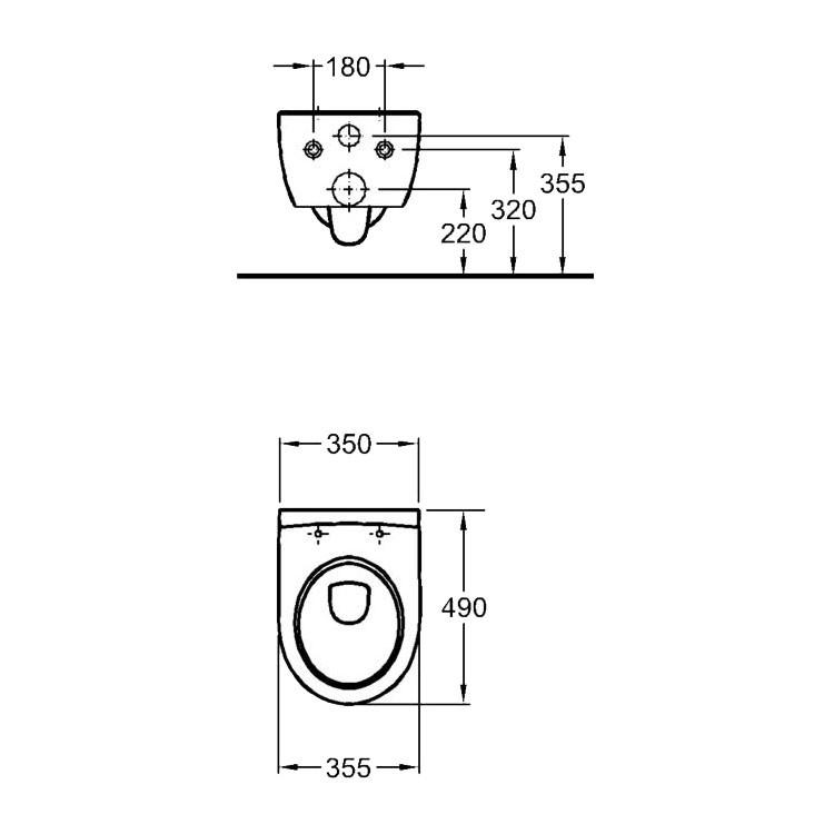 keramag icon xs rimfree wc 49 cm sp lrandlos ohne sp lrand. Black Bedroom Furniture Sets. Home Design Ideas